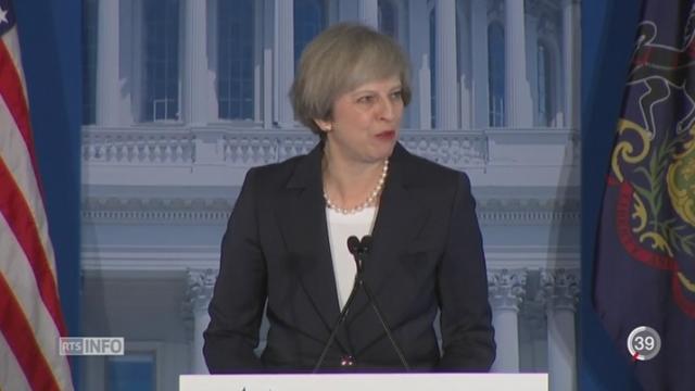 Etats-Unis: la visite de Theresa May perpétue une vieille tradition [RTS]