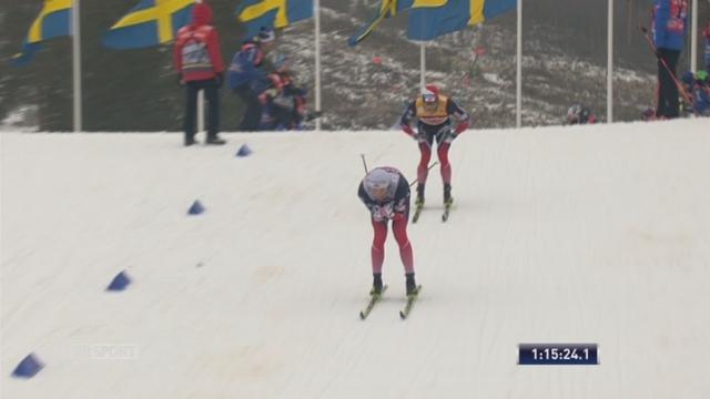 Falun (SWE), 30 km messieurs: victoire de Iversen [RTS]
