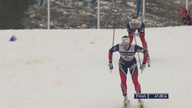 Falun (SWE), 15 km dames: Victoire de Bjergen (NOR) [RTS]