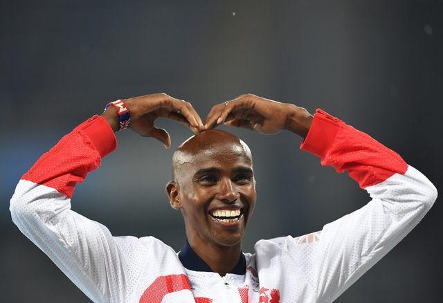 Mo Farah a réalisé le doublé 5000-10'000 m aux Jeux de Rio. [Bernd Thissen - EPA/Keystone]