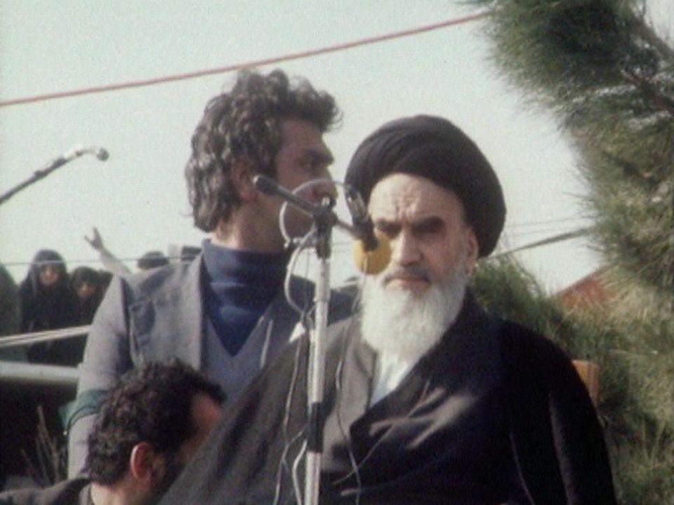 Le retour de l'ayatollah Khomeiny [RTS]