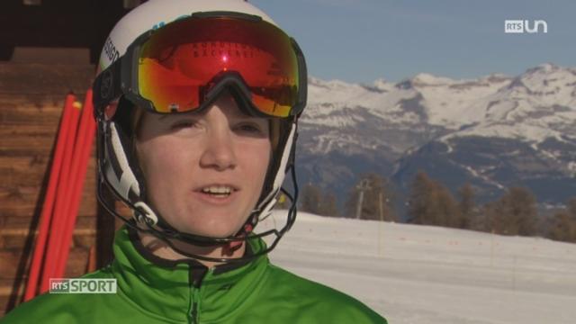 Ski Alpin: la relève du ski suisse s'entraîne à Brigue et aux alentours [RTS]