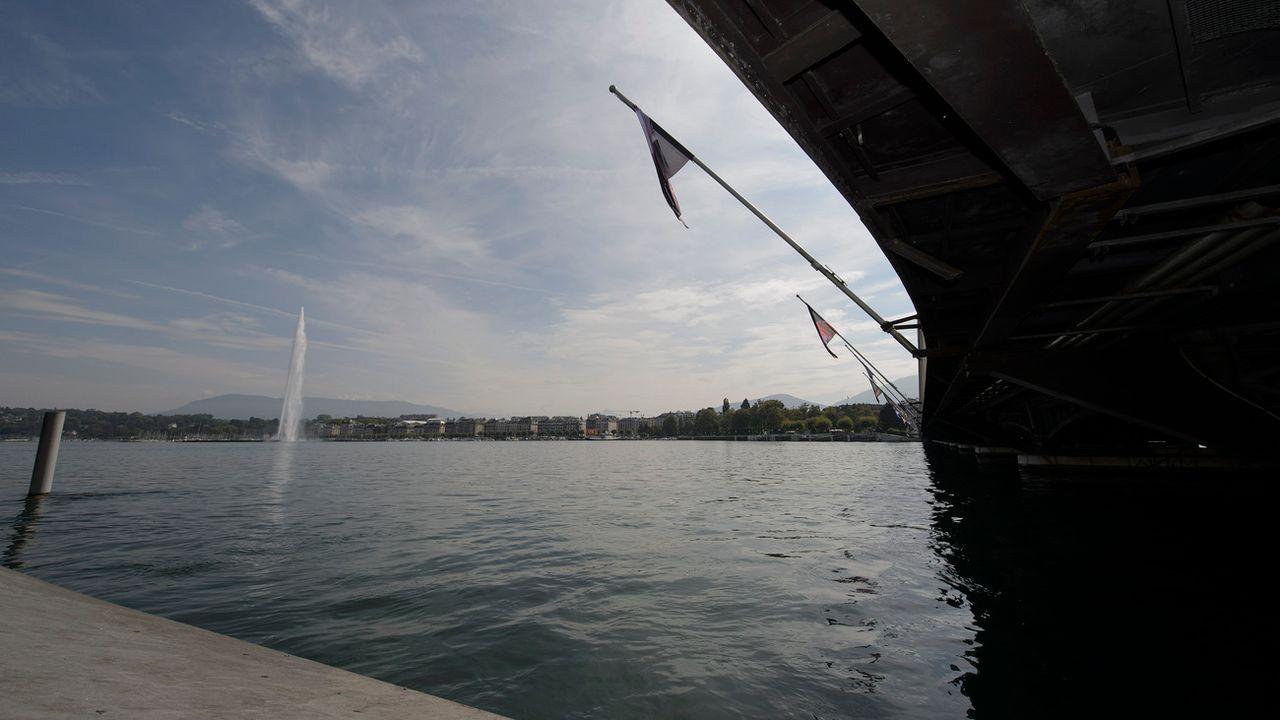 Le projet de traversée de la rade de Genève pourrait-il bénéficier d'un financement par le fonds FORTA? [Martial Trezzini - Keystone]