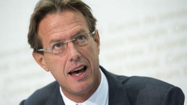 Christian Lüscher, conseiller national PLR-GE, avocat. [Marcel Bieri - Keystone]