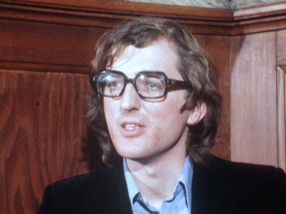 Philippe Roch en 1977. [RTS]