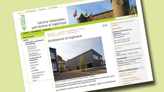 Le SIPaL remplit des tâches très diverses en matière de patrimoine et de construction notamment. [DR]