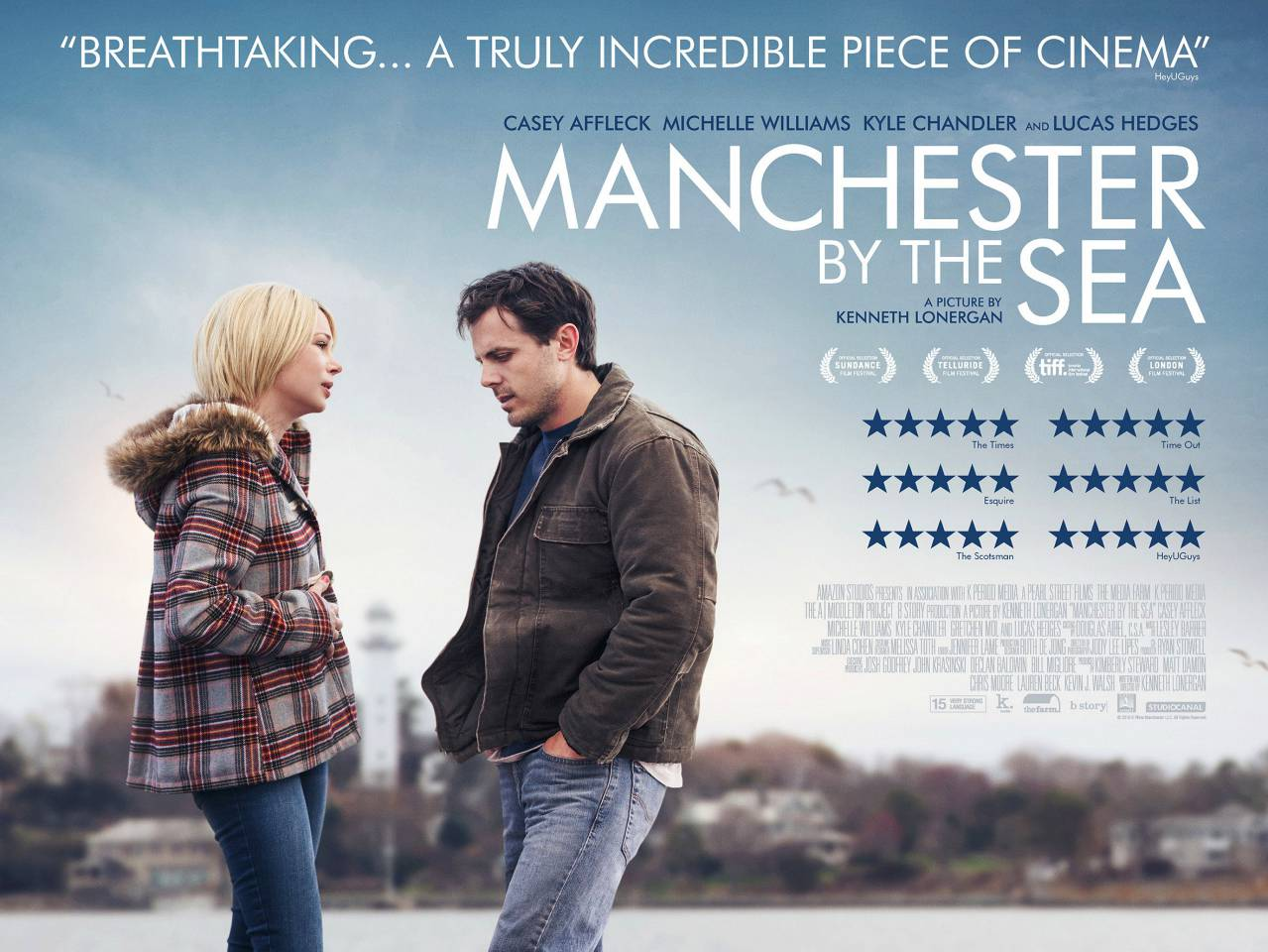 "L'affiche du film ""Manchester by the sea"" de Kenneth Lonergan."