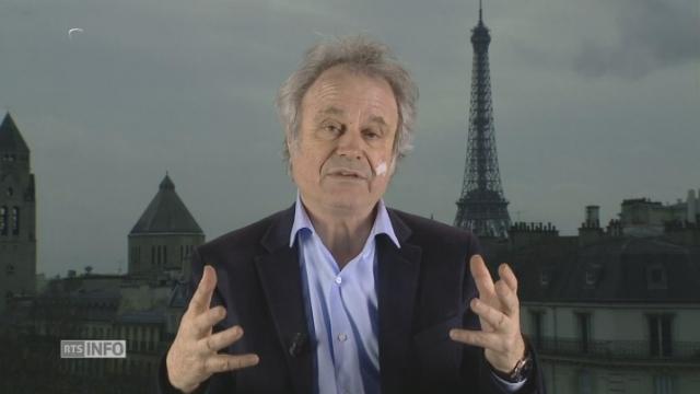 """Dans l'affaire Fillon, """"le coup vient de l'intérieur de la droite"""" [RTS]"""