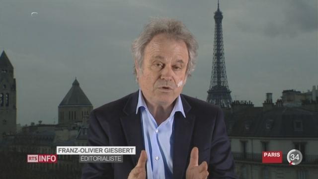 Penelopegate: entretien avec Franz-Olivier Giesbert à Paris [RTS]
