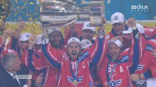 Kloten - GSHC: Kloten bat Genève-Servette 5-2 et devient champion de Suisse [RTS]
