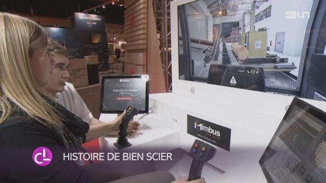 FR: un simulateur de scieuse permet de former des apprentis [RTS]