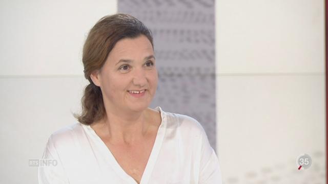 Soins palliatifs pour enfants: entretien avec Anne-Sylvie Ramelet [RTS]