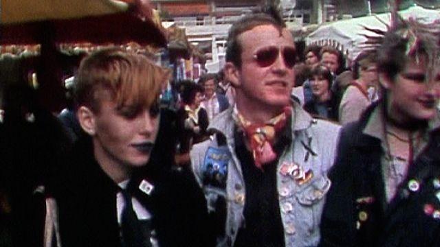 Des punks en 1982. [RTS]