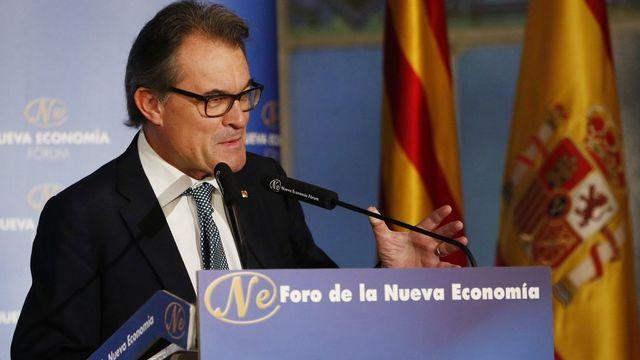 Artur Mas, président de la Convergence démocratique de Catalogne, le 19.10.2016 à Madrid. [J.J.Guillen - EPA/Keystone]