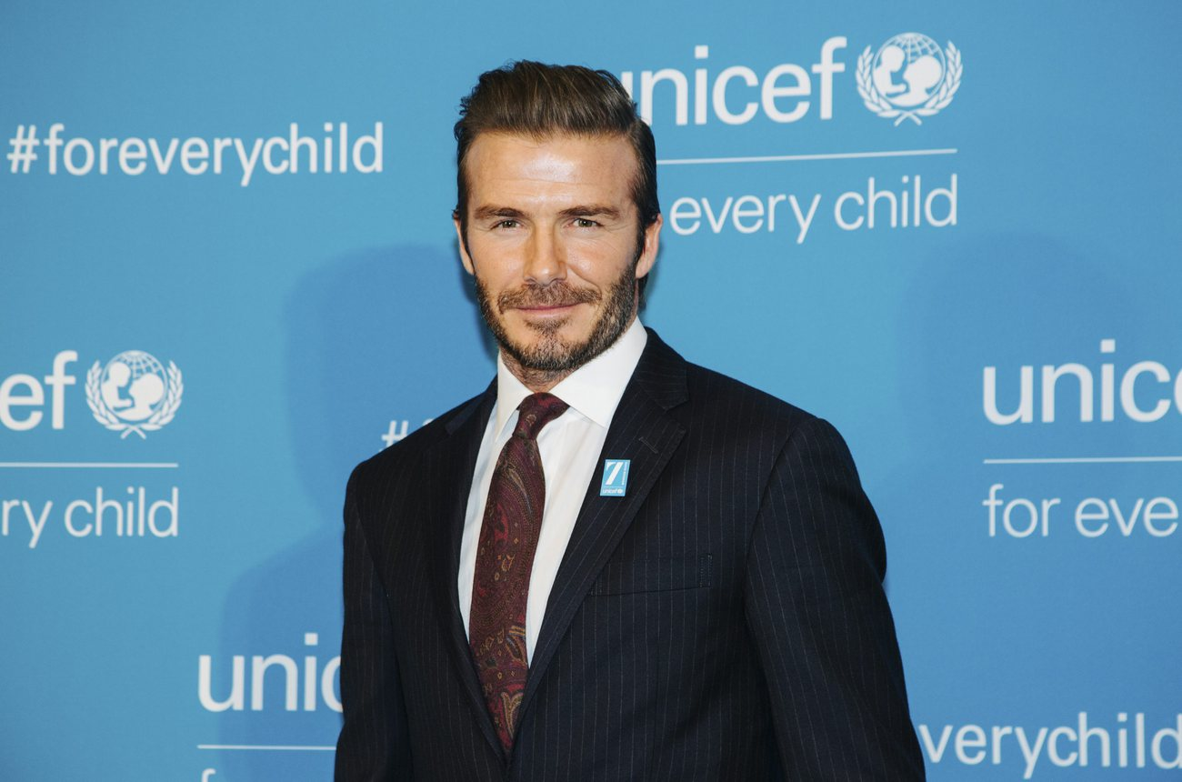 L'engagement de Beckham auprès de l'Unicef remis en cause — Football Leaks