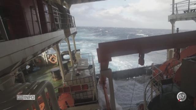 Mission ACE en Antarctique: premier carnet de voyage [RTS]