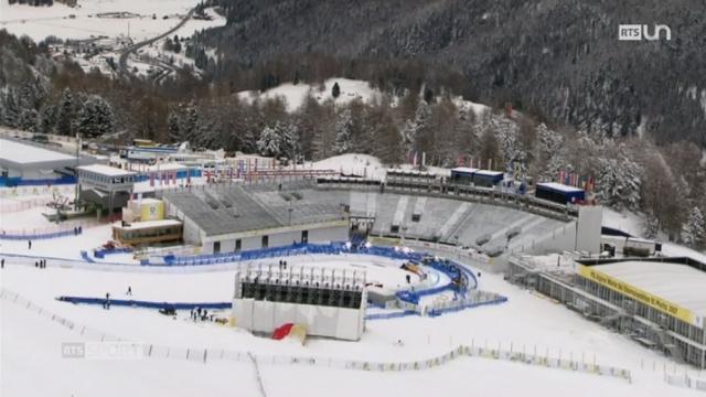 Ski - Mondiaux de Saint-Moritz: la station grisonne a soigné tous les détails pour l'évènement [RTS]