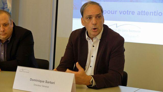 Dominique Sartori, directeur de l'Hôpital du Jura bernois. [Alain Arnaud - RTS]