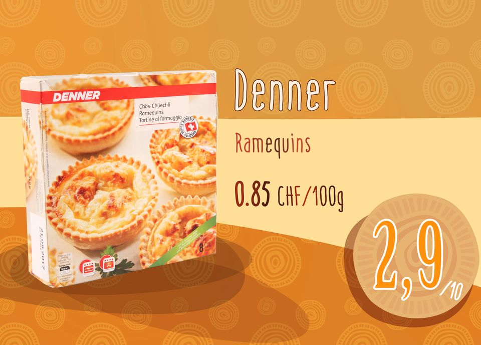 Ramequins - Denner. [RTS]