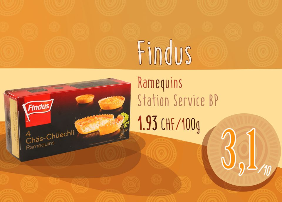 Ramequins Findus - Station Service BP. [RTS]