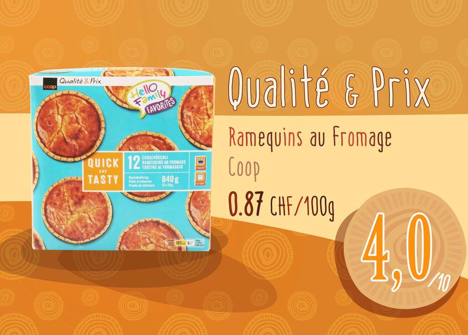 Ramequins au Fromage - Qualité & Prix - Coop. [RTS]