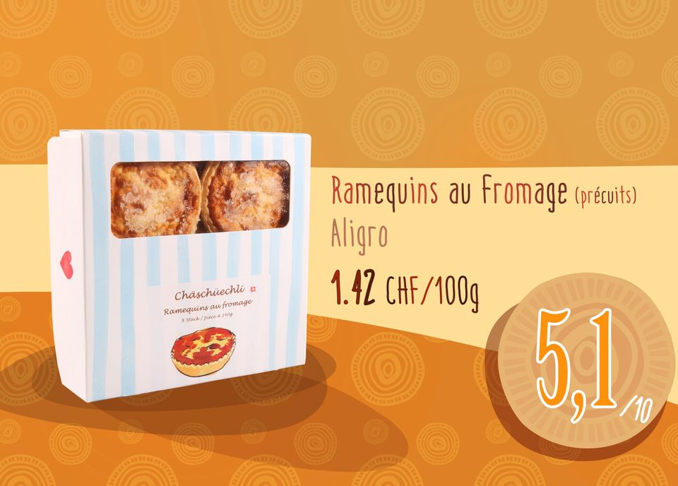 Ramequins au Fromage - Aligro. [RTS]