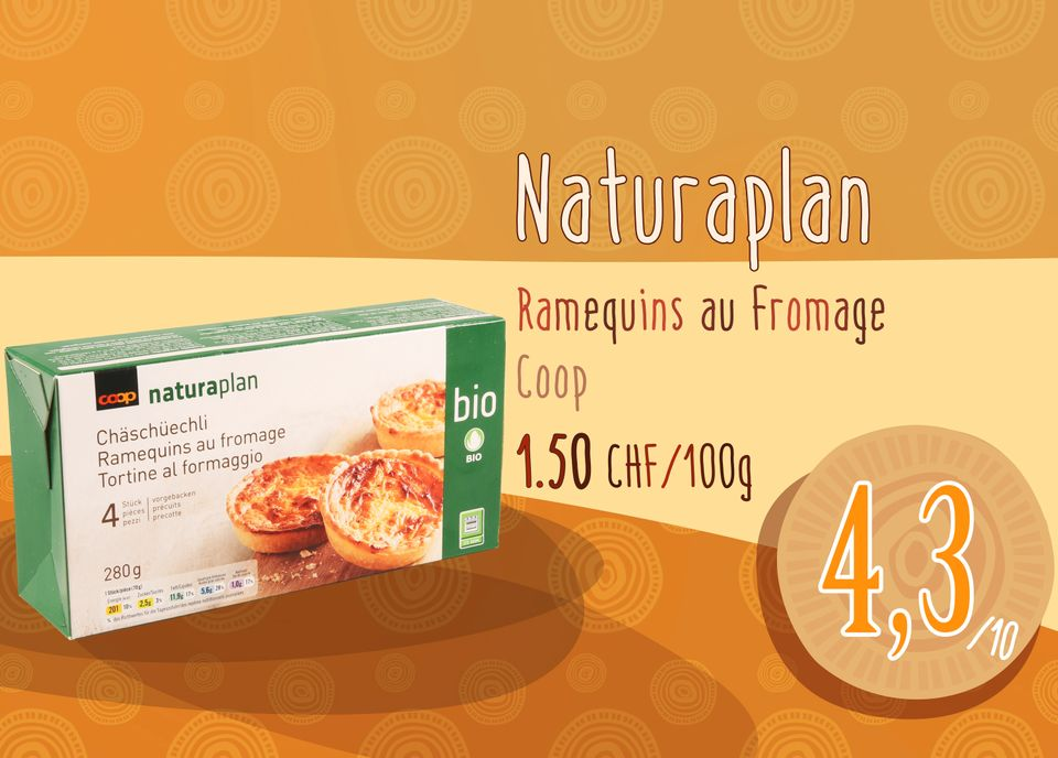 Ramequins au Fromage bio - Coop. [RTS]