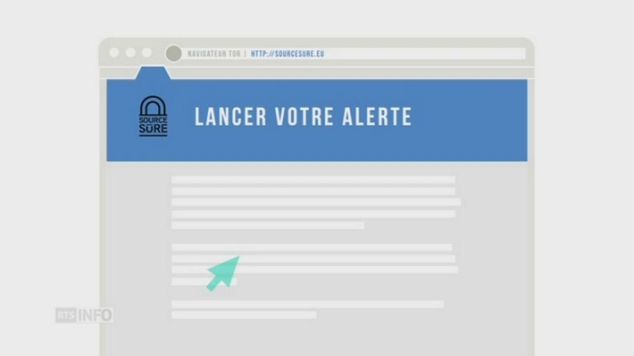 Présentation de la plateforme d'alerte sécurisée Source sûre [RTS]