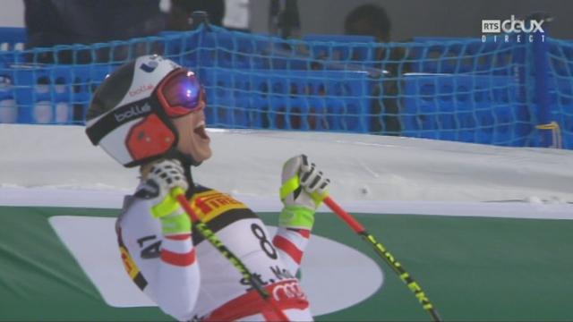 Mondiaux de St-Moritz, Super-G: l'Autrichienne Nicole Schmidhofer remporte la médaille d'or! [RTS]