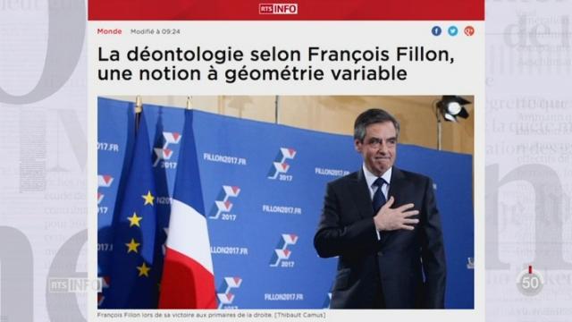 France: l'examen de conscience de François Fillon suscite les critiques [RTS]