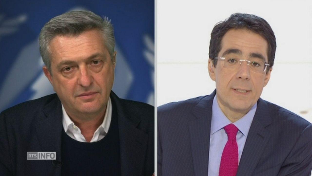 "Filippo Grandi: ""Le flux des réfugiés syriens ne va pas faiblir"" [RTS]"