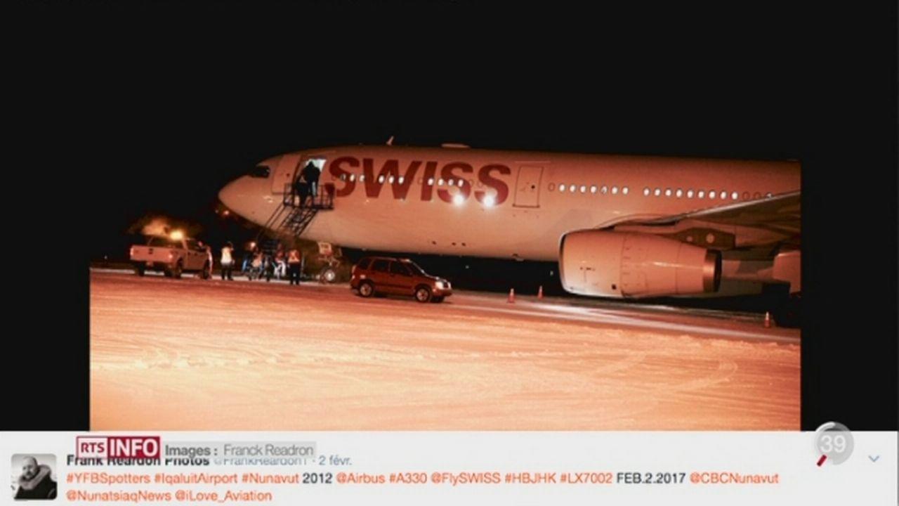 Boeing Swiss bloqué à Iqaluit (CAN): réparations difficiles [RTS]