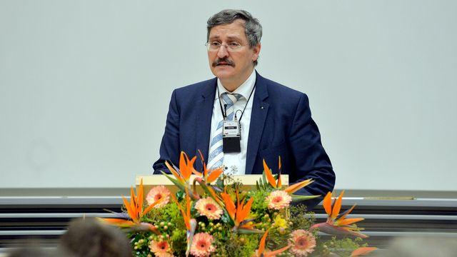 Michael Hengartner, recteur de l'Université de Zurich. [Walter Bieri - Keystone]