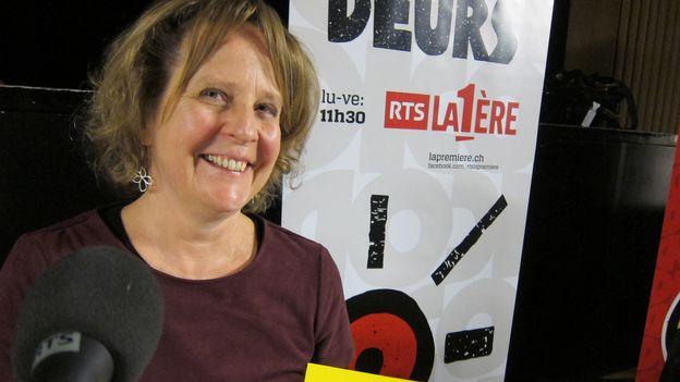 A Corpataux (FR), avec Marilène Rayroud-Tamò, présidente de l'association culturelle La Tuffière (5/5)
