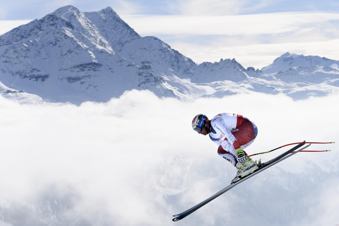 Érik Guay gagne le Super-G en Suisse