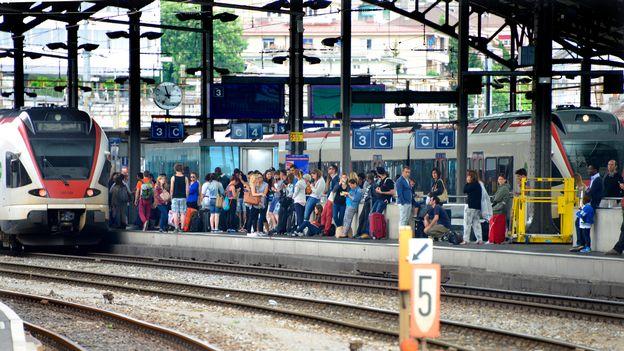 La vie dans les transports publics