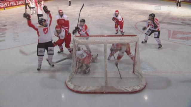 Danemark - Suisse (0-2): la Suisse mène dans ce 1er tiers [RTS]