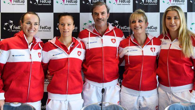 Tennis: l'équipe de Suisse de Fed Cup peut espérer se qualifier pour la finale