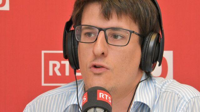 Johan Rochel, vice-président du think-tank Foraus. [RTS - RTS]