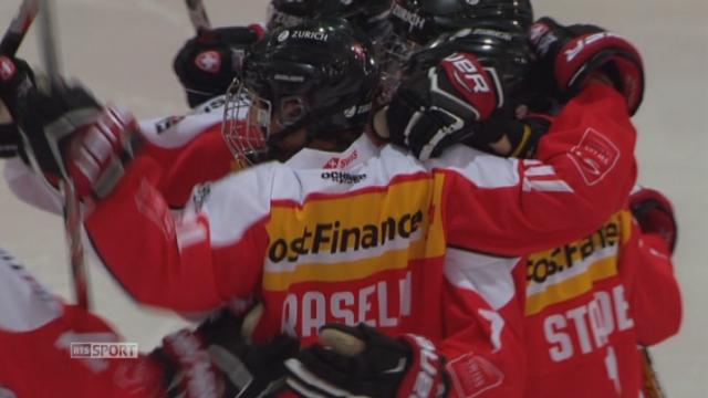 Suisse - Norvège (1-1): égalité entre les deux équipes à la fin du premier tiers [RTS]