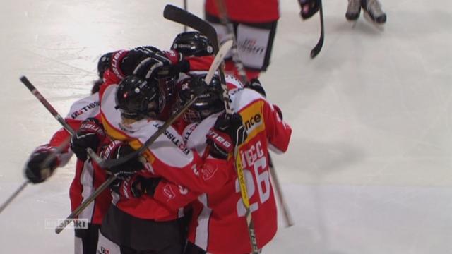 Suisse - Norvège (2-1): la Suisse mène d'une longueur à la fin du 2e [RTS]