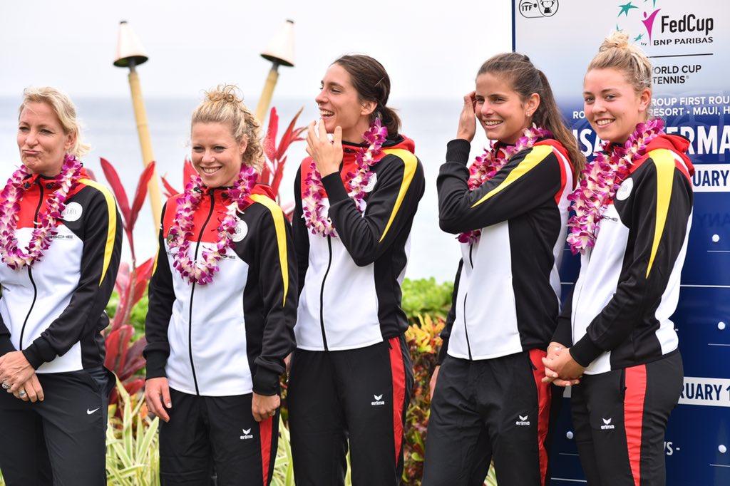 Gros couac à Hawaï, l'hymne nazi joué avant USA-Allemagne — Fed Cup