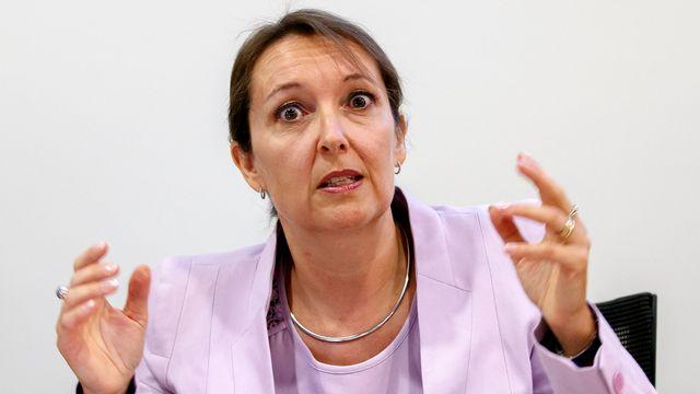 Frédérique Reeb-Landry, présidente du Groupement des entreprises multinationales. [Salvatore Di Nolfi - keystone]