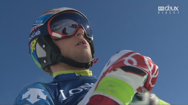 Mondiaux de St-Moritz, combiné, 2e manche: Justin Murisier (SUI) [RTS]