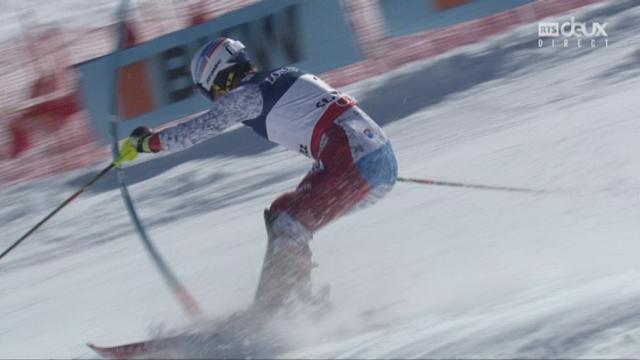 Mondiaux de St-Moritz, combiné, 2e manche: Mauro Caviezel (SUI) [RTS]