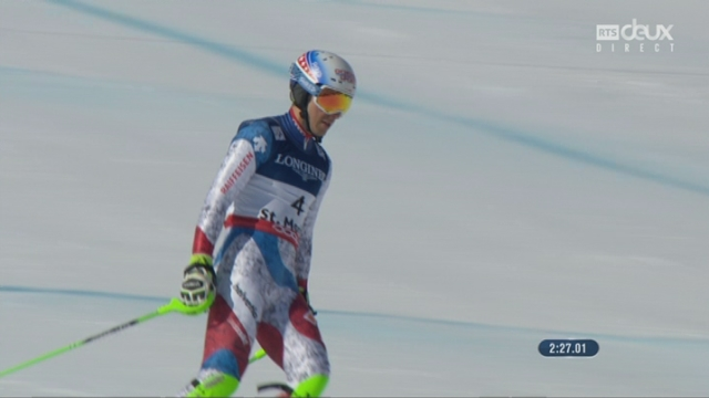 Mondiaux de St-Moritz, combiné, 2e manche: Carlo Janka (SUI) [RTS]
