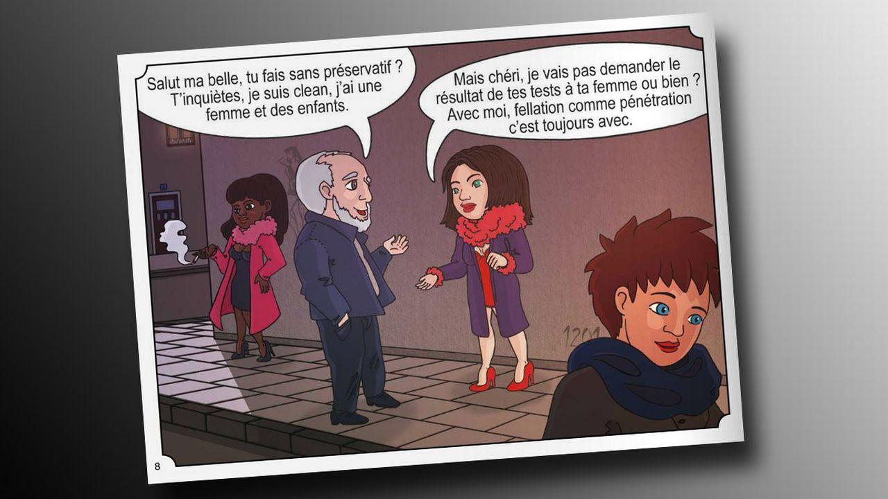 """Capture de la brochure """"Santé sexuelle: histoires d'en parler"""". [fr.calameo.com]"""