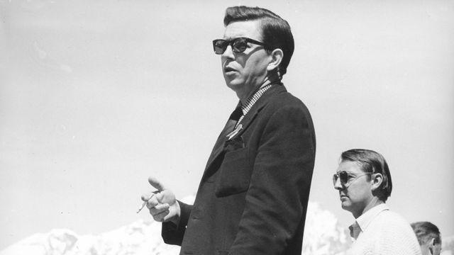 René Schenker en 1965. [RTS]