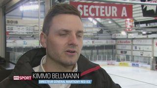 Hockey- LNB: Martigny Red Ice nourrit des ambitions pour les plays-offs [RTS]