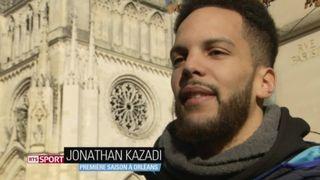 Basketball: Jonathan Kazadi effectue sa première année à Orléans, au sein du championnat de France [RTS]